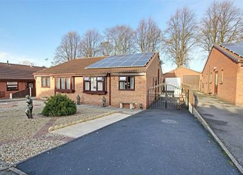 Thumbnail 2 bed semi-detached bungalow for sale in St. Peters Close, Ollerton, Newark