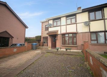 Thumbnail 4 bed semi-detached house for sale in Hazelwood Avenue, Dunmurry, Belfast, County Antrim