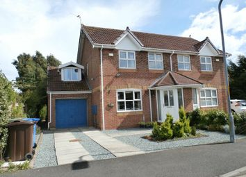 Thumbnail 3 bed semi-detached house for sale in Robsons Way, Amble, Morpeth