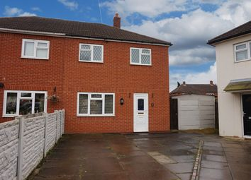Thumbnail 2 bed semi-detached house for sale in Ash Grove, Tamworth