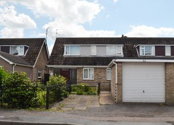 Thumbnail 3 bedroom semi-detached bungalow for sale in River Terrace, Wisbech