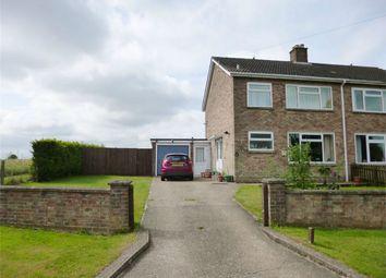 Thumbnail 3 bed semi-detached house for sale in Staploe Village, St Neots, Cambridgeshire