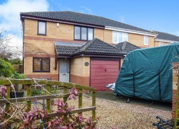 Thumbnail 3 bed semi-detached house for sale in Flowers Close, Ramsey, Huntingdon