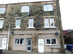 Thumbnail 1 bed flat to rent in Shamrock Terrace, Ferryhills Road, Inverkeithing