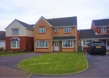 Thumbnail 4 bed detached house for sale in Clos Hector, Cardiff
