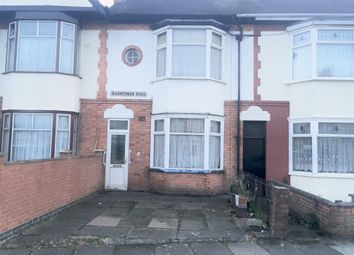 Thumbnail 3 bed terraced house for sale in Bannerman Road, Leciester