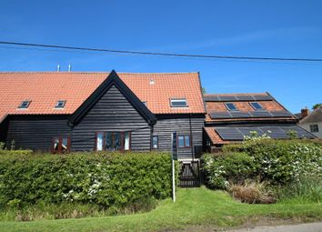 Thumbnail 3 bed barn conversion for sale in Gedding, Bury St Edmunds, Suffolk