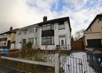 Thumbnail 3 bed semi-detached house for sale in Thingwall Hall Drive, Liverpool