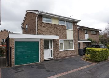 Thumbnail 3 bed detached house for sale in Stonecrop Close, Warrington