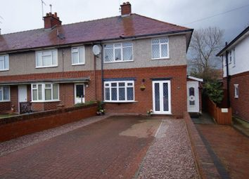 Thumbnail 3 bed semi-detached house for sale in Kingsmills Road, Wrexham