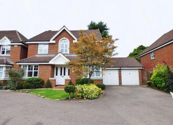 Thumbnail 4 bed detached house for sale in Emmett Close, Shenley, Radlett