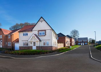 """Thumbnail 4 bed detached house for sale in """"Lincoln"""" at Church Road, Webheath, Redditch"""