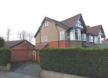 Thumbnail 4 bedroom semi-detached house for sale in Junction Road, Deane, Bolton, Greater Manchester
