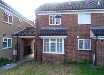 Thumbnail 2 bed terraced house to rent in Dorrington Close, Luton