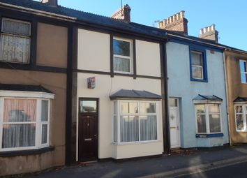 Thumbnail 2 bed terraced house for sale in Hele Road, Torquay