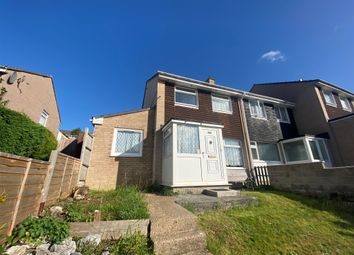 Thumbnail 4 bed end terrace house for sale in Peters Park Close, Plymouth