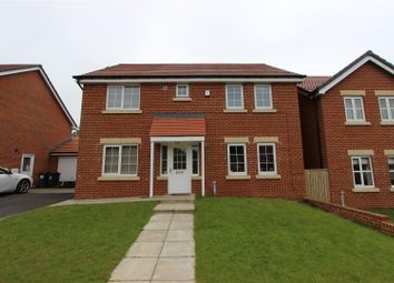 Thumbnail 4 bed detached house to rent in Glaisdale Court, Darlington