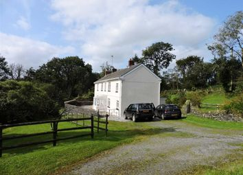 Thumbnail 5 bed farm for sale in Cwmbach, Whitland, Carmarthenshire