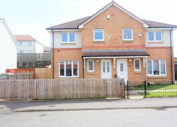 Thumbnail 3 bed semi-detached house for sale in Craigendmuir Street, Glasgow
