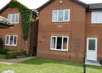 Thumbnail 2 bed semi-detached house for sale in Poplar Grove, Scotter, Gainsborough