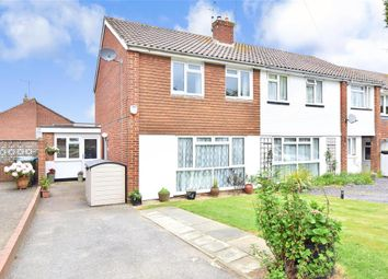Thumbnail 4 bed semi-detached house for sale in Amberley Road, Horsham, West Sussex