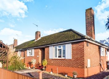 Thumbnail 2 bedroom semi-detached bungalow for sale in Morton Crescent, Bradwell, Great Yarmouth