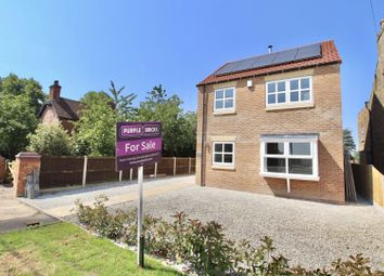 Thumbnail 4 bed detached house for sale in Station Road, Foggathorpe
