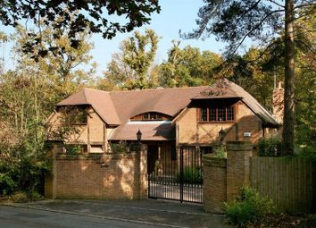 Thumbnail 4 bed detached house for sale in Westwood Road, Windlesham