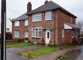 Thumbnail 3 bed semi-detached house for sale in Marriott Avenue, Mansfield