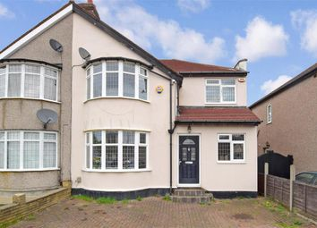 Thumbnail 3 bed semi-detached house for sale in Dunspring Lane, Clayhall, Ilford, Essex