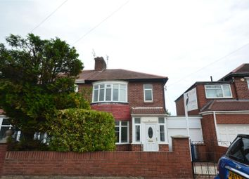 Thumbnail 3 bed semi-detached house for sale in Grange View, Fulwell, Sunderland