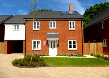 Thumbnail 4 bed detached house for sale in Oak View, Shadoxhurst, Ashford