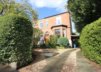 Thumbnail 4 bed semi-detached house for sale in Broad Road, Sale
