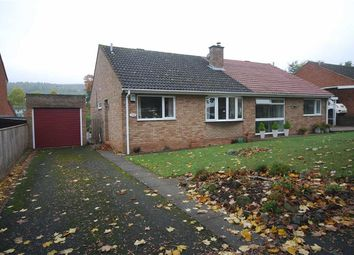 Thumbnail 2 bed semi-detached bungalow for sale in Oakland Drive, Ledbury, Herefordshire