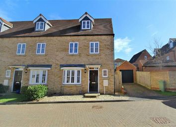 Thumbnail 4 bed end terrace house for sale in Lockwood Chase, Oxley Park, Milton Keynes