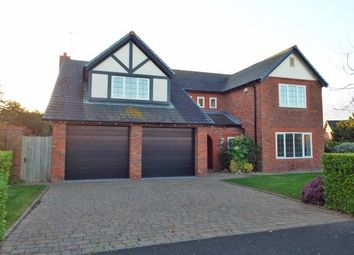 Thumbnail 5 bed detached house to rent in Meadowgate, Caldy, Wirral