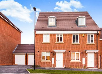 Thumbnail 3 bedroom semi-detached house for sale in Anglian Way, Stoke, Coventry