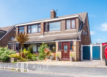 Thumbnail 3 bed semi-detached house for sale in Harrock Road, Clayton-Le-Woods, Chorley