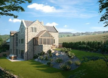Thumbnail 4 bed detached house for sale in Dobb Lane, Holmbridge, Holmfirth
