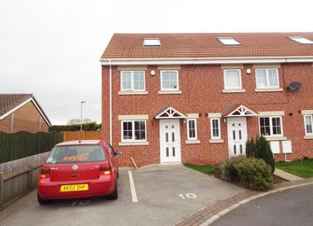 Thumbnail 4 bed town house to rent in Glaisedale Court, Laughton Common, Dinnington, Sheffield