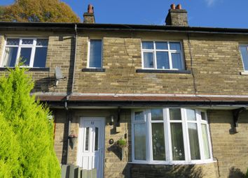 2 bed terraced house for sale in Rockcliffe Mount, Luddendenfoot, Halifax HX2