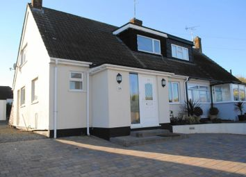 Thumbnail 3 bed semi-detached bungalow for sale in Larchwood Close, Leigh-On-Sea