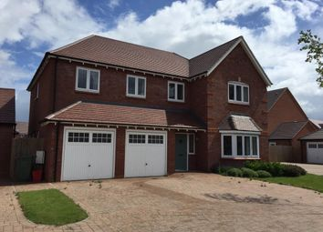 Thumbnail 5 bed detached house to rent in Twain Gardens, Warwick