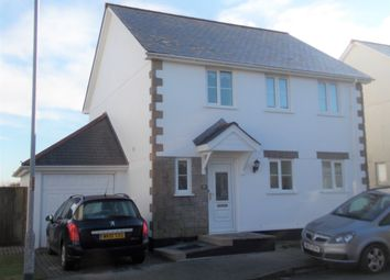Thumbnail 3 bed detached house to rent in St Michaels Way, Roche, St. Austell