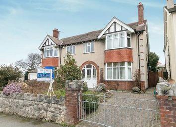 Thumbnail 4 bedroom semi-detached house for sale in Bodelwyddan Avenue, Old Colwyn, Colwyn Bay, Conwy
