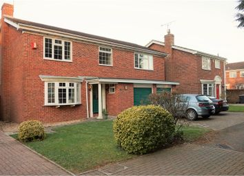 Thumbnail 4 bed detached house for sale in Manor Close, Wickham, Fareham