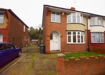 Thumbnail 3 bedroom semi-detached house to rent in Pembroke Avenue, Luton