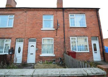 Thumbnail 2 bed terraced house for sale in Langwith Road, Shirebrook, Mansfield