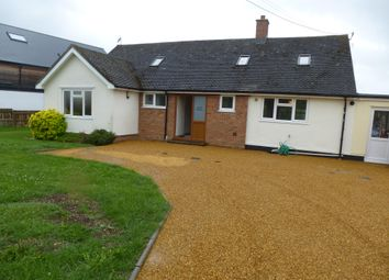 Thumbnail 5 bedroom detached bungalow to rent in The Hamlet, Chettisham, Ely