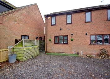 Thumbnail 2 bed semi-detached house for sale in Saxilby Road, Skellingthorpe, Lincoln